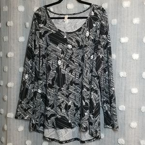 NWOT LuLaRoe Long Sleeve Perfect T Disney